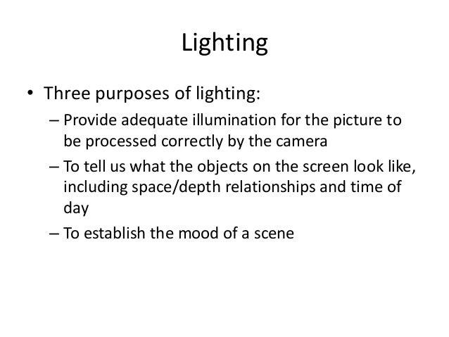 Video Production Basics Slide 3