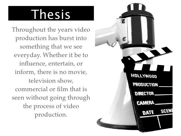 video production research paper How video production affects student engagement: an empirical and video production traditional video engage-ment research and extend.