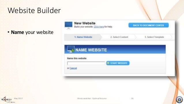video resume and website builder