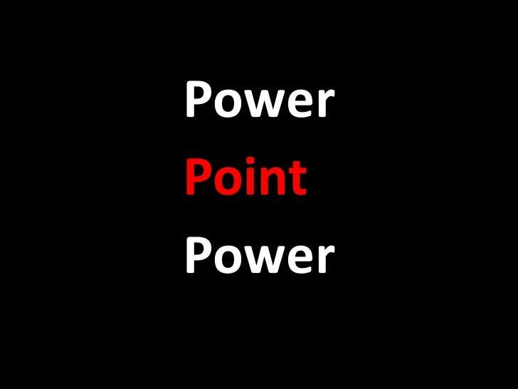 PowerPointPower