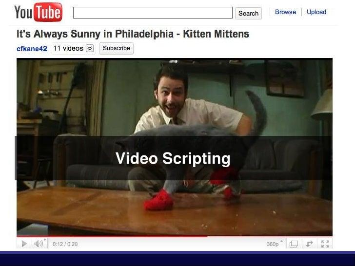Video Scripting