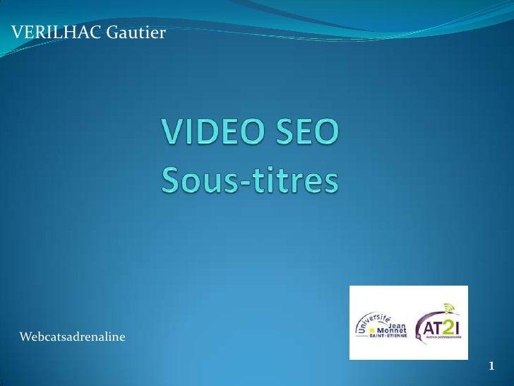 VERILHAC GautierWebcatsadrenaline                    1