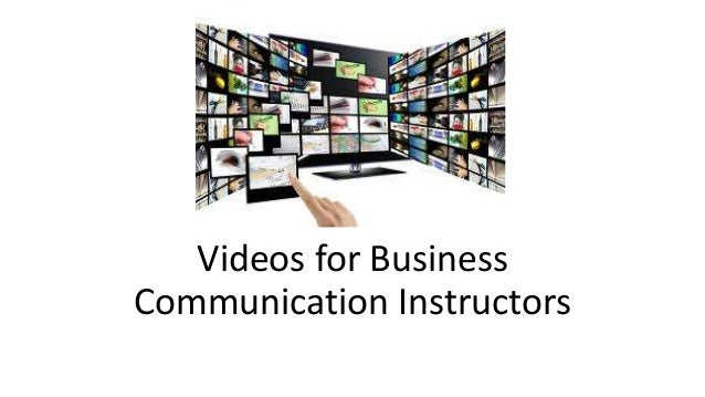 Videos for Business Communication Instructors