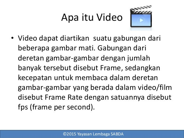 Video show Slide 2