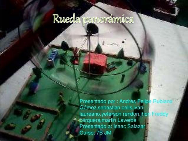 Presentado por : Andrés Felipe Rubiano  Gómez,sebastian celis,ivan  laureano.yeferson rendon,jhon Freddy  cerquera,martin ...
