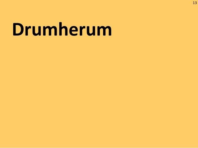 13 Drumherum