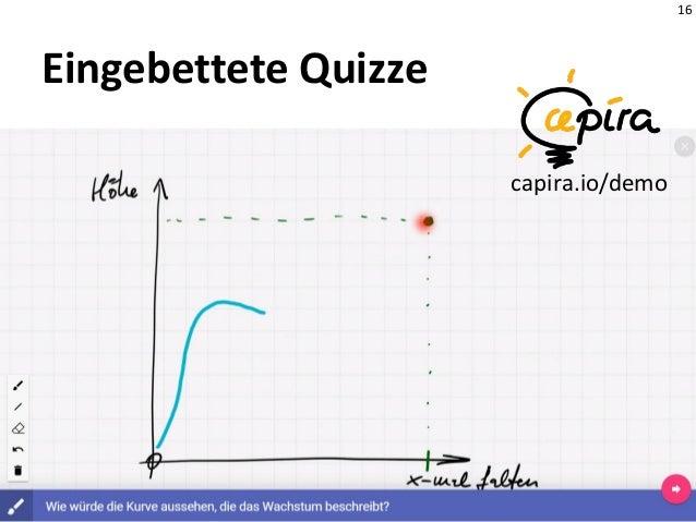 16 Eingebettete Quizze capira.io/demo