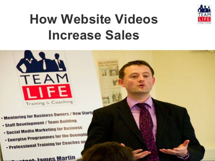 How Website Videos  Increase Sales