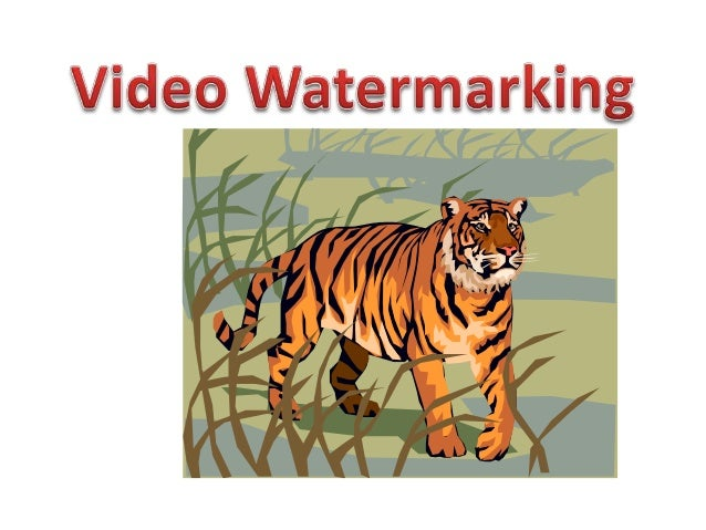 WatermarkedVideo sequence                                                      Video sequence                             ...