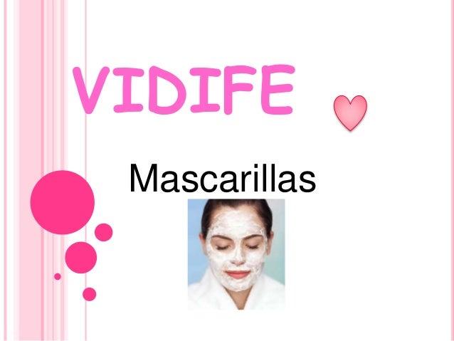 VIDIFE Mascarillas