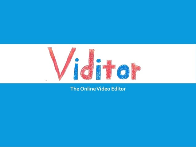 The Online Video Editor