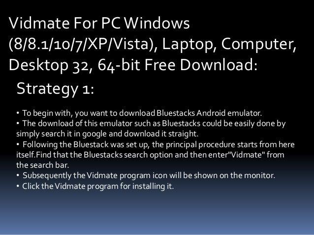 Top 10 Punto Medio Noticias | Vidmate For Pc Windows 7 Free Download