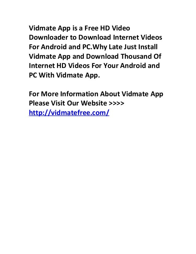 76 Vid Mate Hd Video Apk Vidmate Apk Downoad Hd Videos For Free