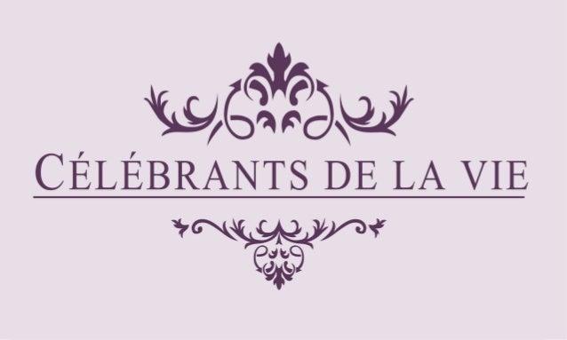 C�L�BRANTS DE MARIAGE