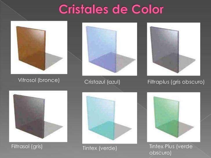 Vidrio exposicion - Puertas con cristales de colores ...