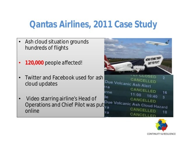QANTAS, a case study of restructuring program