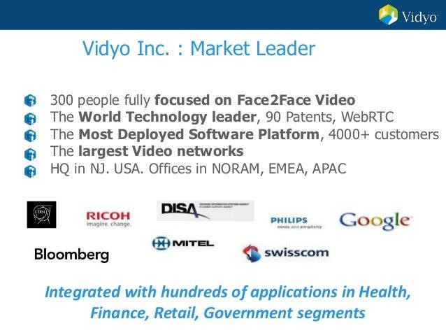 Vidyo: Online-Video Customer Service Slide 3