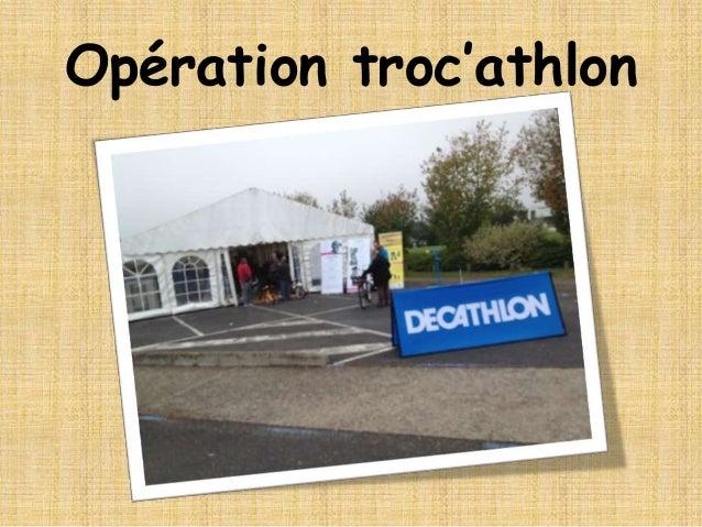 Opération troc'athlon
