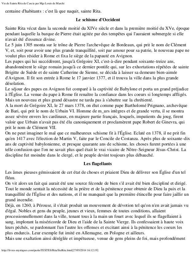 Vie de Sainte Ritata de Cascia, la Sainte des cas désespérés et impossibles Slide 2