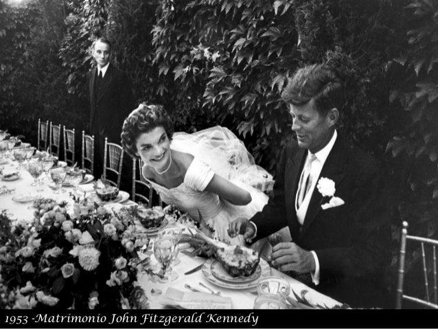 1953 -Matrimonio John Fitzgerald Kennedy