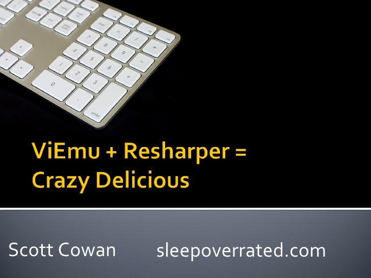 Scott Cowan sleepoverrated.com