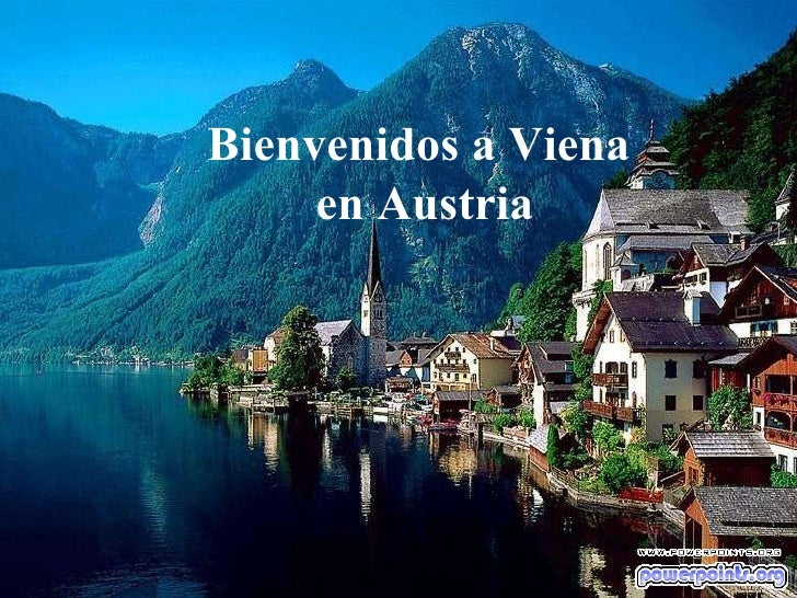 Bienvenidos a Viena  en Austria