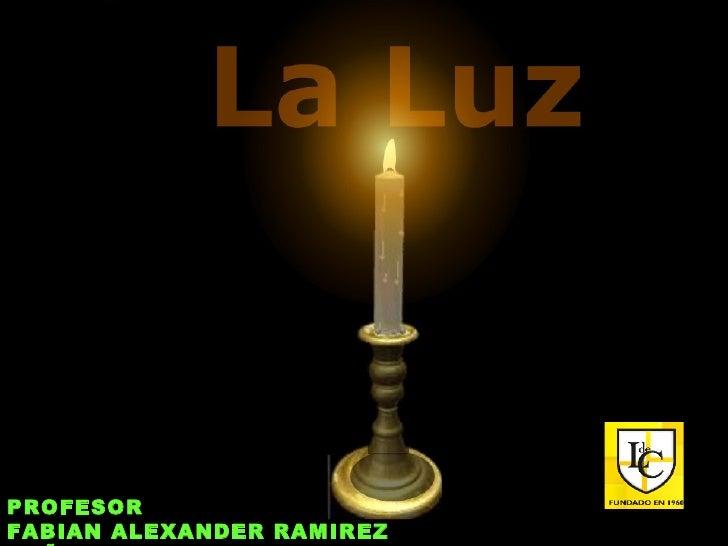 PROFESOR FABIAN ALEXANDER RAMIREZ CAÑON