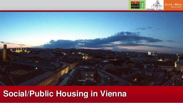 Social/Public Housing in Vienna