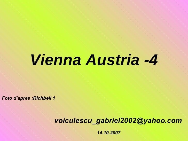 Vienna Austria -4 [email_address] Foto d'apres :Richbell 1 14.10.2007