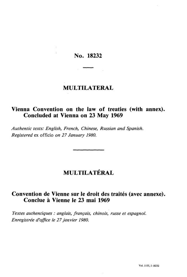 Treaties vienna law of convention on pdf the