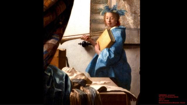 VERMEER, Johannes The Art of Painting (detail) 1665-67 Oil on canvas Kunsthistorisches Museum, Vienna
