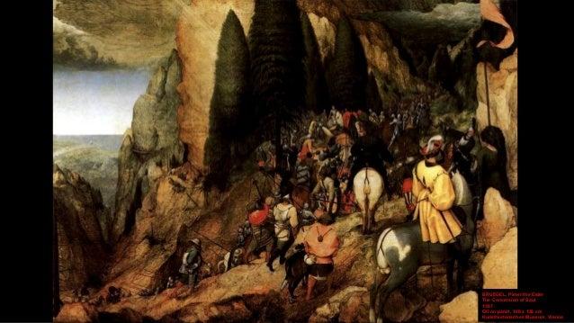 BRUEGEL, Pieter the Elder The Conversion of Saul (detail) 1567 Oil on panel Kunsthistorisches Museum, Vienna