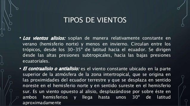 9 CARACTERISTICAS FISICAS DE LOS VIENTOS