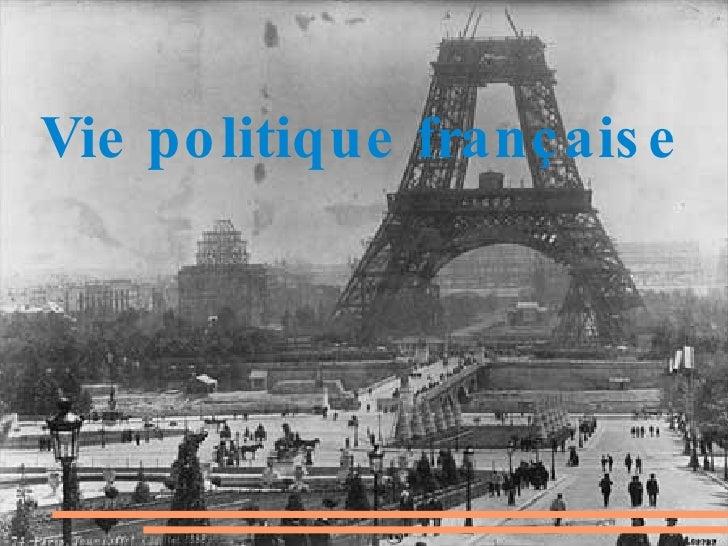 Vie politique française