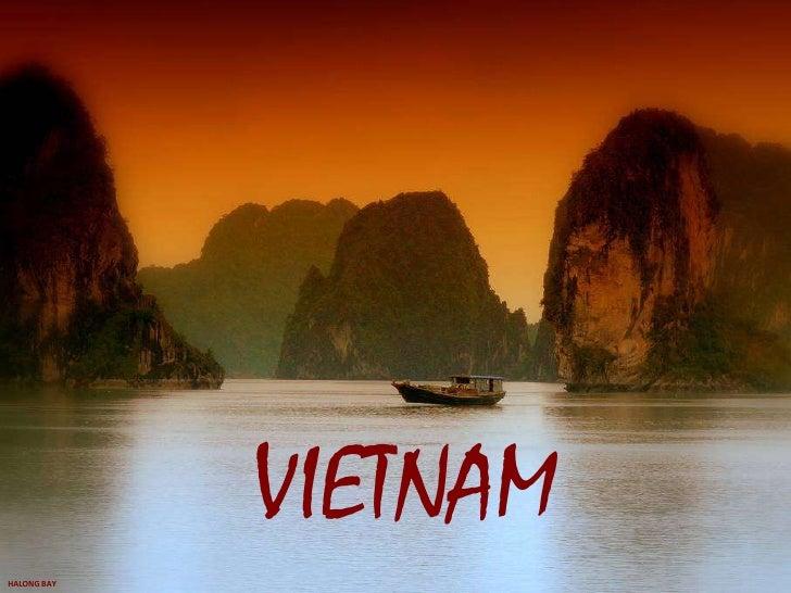VIETNAM<br />HALONG BAY<br />