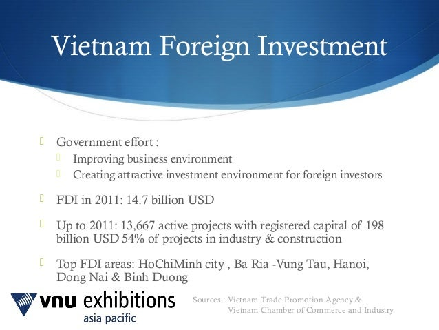 a paper on vietnam as an attractive investment opportunity Bis working papers are written by members of the  this paper identifies some key  finance would help to make infrastructure more attractive for a broader.