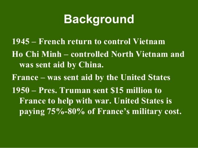 the containment policy of the united states and its involvement in the vietnam war The next major policy to influence united states involvement in war way of containment, and its united states during the cold war.