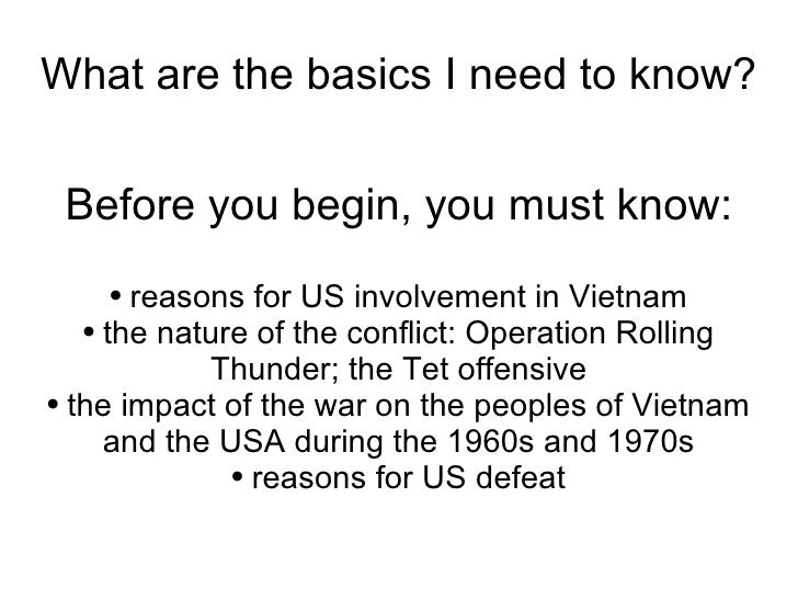 vietnam coursework answers