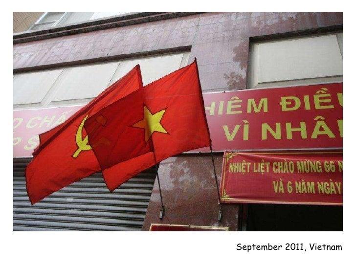 September 2011, Vietnam