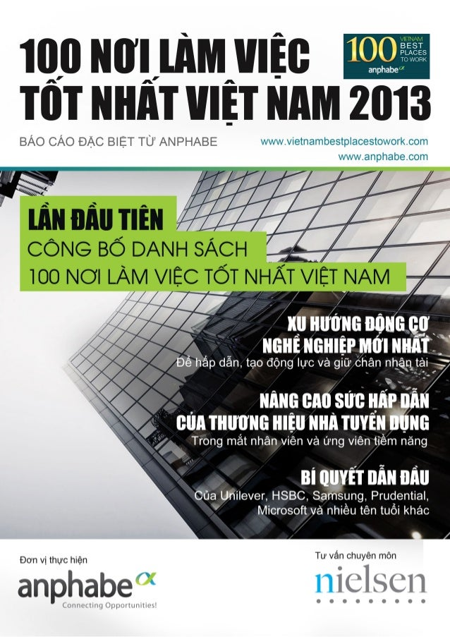 Vietnam best places to work 2013