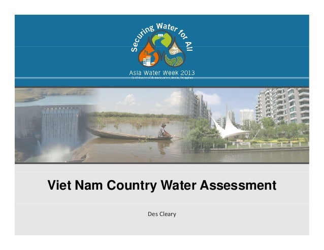 Viet Nam Country Water AssessmentDes Cleary