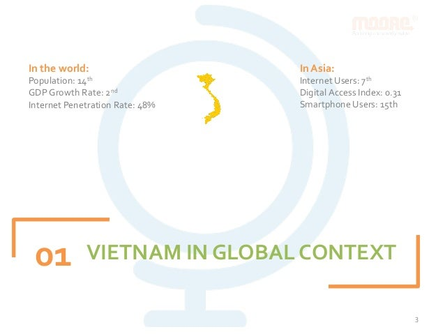 Vietnam Digital Landscape Q3/2015 by Moore Corporation Slide 3