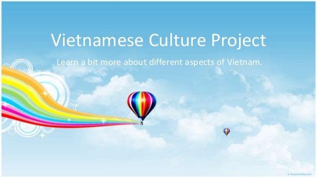 Vietnamese culture project