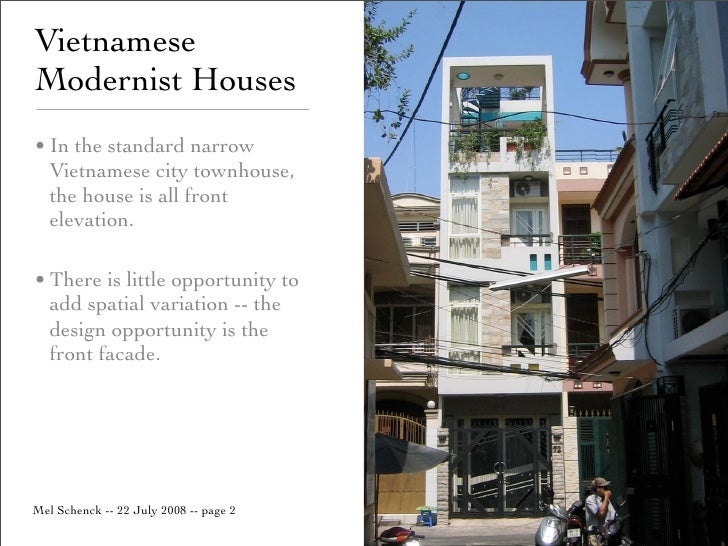 Vietnamese Modernist Houses