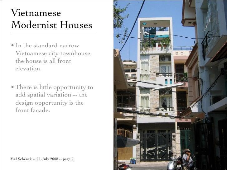 Front Elevation Design For Houses : Vietnamese modernist houses