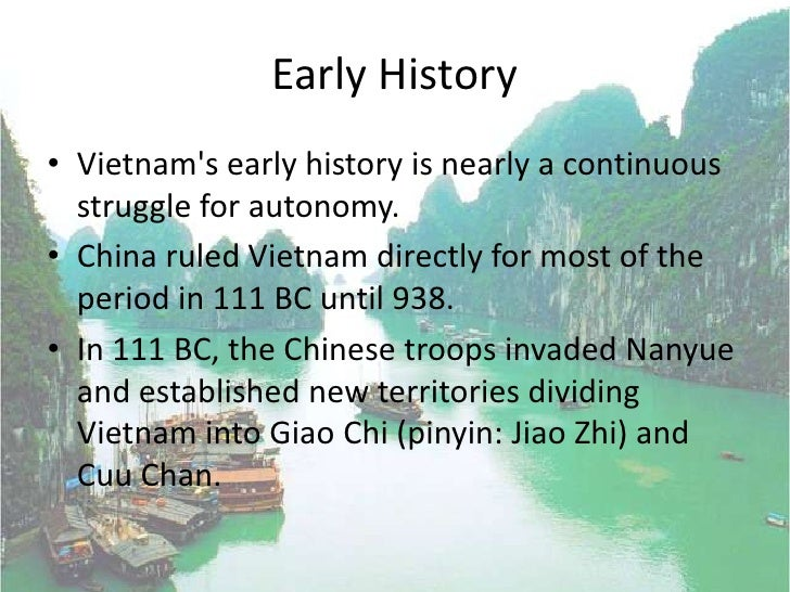 Vietnam History And Geography