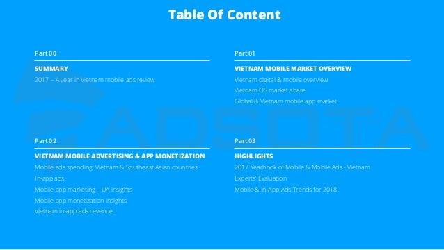 Vietnam Mobile App Advertising & Monetization Report (2017) Slide 2