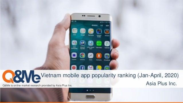 Asia Plus Inc. Q&Me is online market research provided by Asia Plus Inc. Asia Plus Inc. Vietnam mobile app popularity rank...