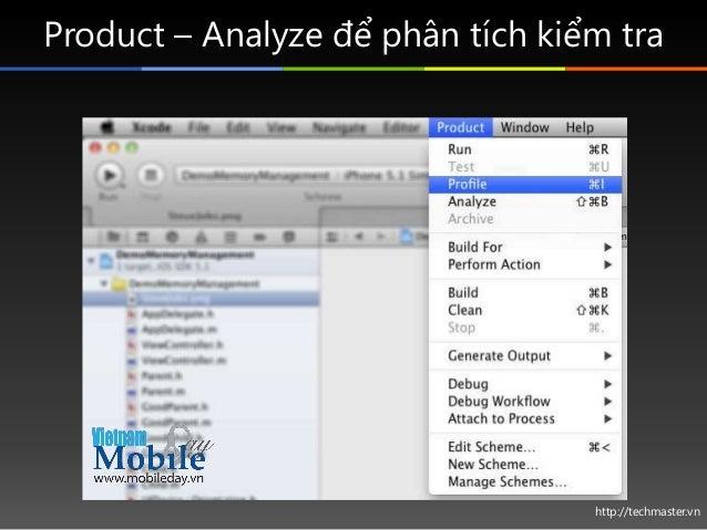 http://techmaster.vn Product – Analyze để phân tích kiểm tra