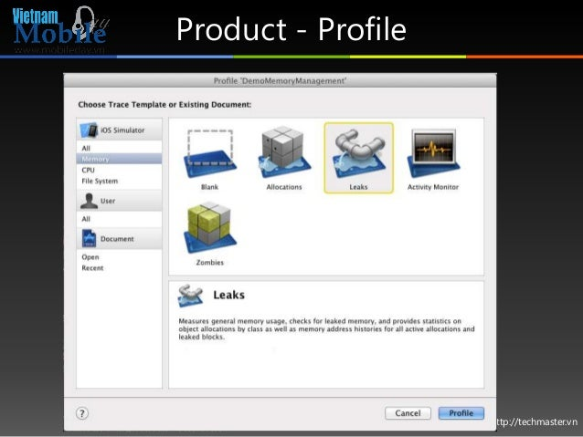 http://techmaster.vn Product - Profile